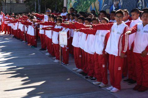 Realizaron el juramento más de 400 deportistas y entrenadores de nivel primaria y secundaria. / Everardo NAVA