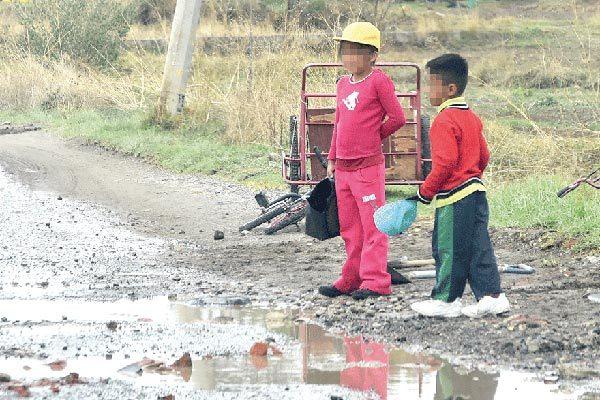 Persiste el trabajo  infantil en Tlaxcala