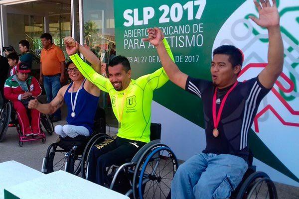 Trabaja Fernando Sánchez Nava para llegar a sus cuartos Juegos Paralímpicos