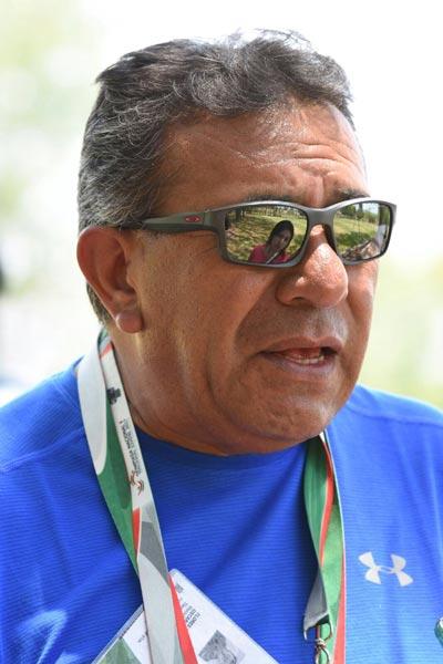 El entrenador Oscar Flores, refirió que el lugar de Coyotitas en la tabla general fue determinado por los puntos que obtuvo en la justa. /Everardo NAVA/ENVIADO