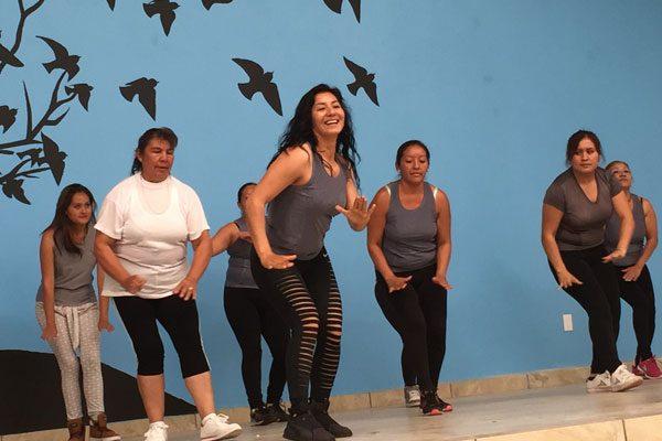 Activación física brinda  bienestar a féminas:  Guadalupe Infante