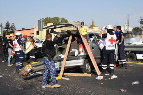 Tlaxcala está por debajo de la media nacional en registro de accidentes viales, de los cuales con datos del Inegi se conoce que, entre 2014 y 2015, se registraron dos mil 743 percances en los que perdieron la vida 87 personas y 836 quedaron lesionadas. / EL SOL DE TLAXCALA