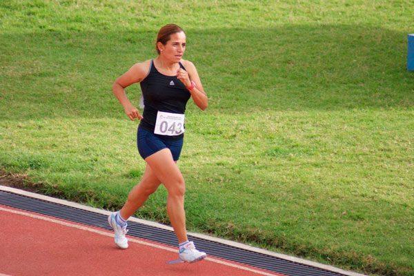 Motivada Mariana Cervantes  para Juegos Sordolímpicos