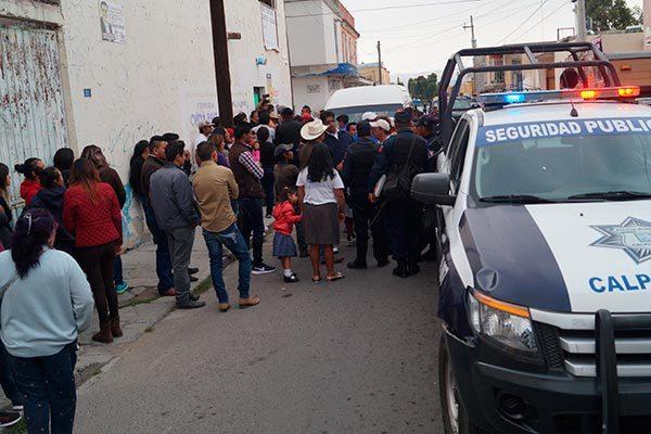 Atropella patrulla a una menor de edad en Calpulalpan