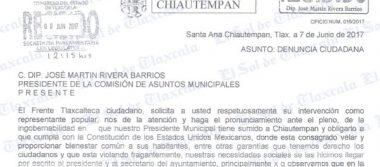 Alcalde quiere convertir a Chiautempan en el antro más grande de Tlaxcala, advierten ciudadanos