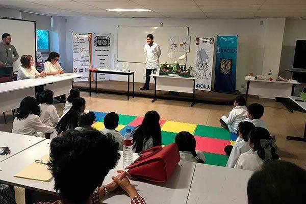 """Trabaja CTBC en proyecto """"Niñas con ciencia"""" y """"Niños Tlacomixtle"""""""