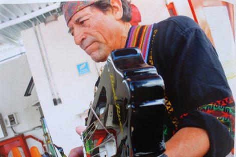 El músico creó un proyecto de difusión de la poesía indígena y la lengua náhuatl, musicalizó poemas del siglo XV y XVI. / Nora Rachel RAMÍREZ
