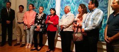 Inauguran exposición pictórica de Gabriela Sodi en ayuntamiento de Tlaxcala