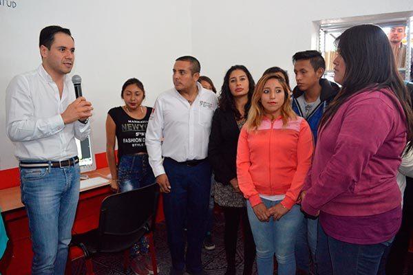 Inaugura ITJ Centro de Desarrollo Juvenil en Nopalucan