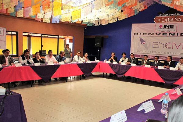 Amplia participación social en segunda mesa de diálogo del INE