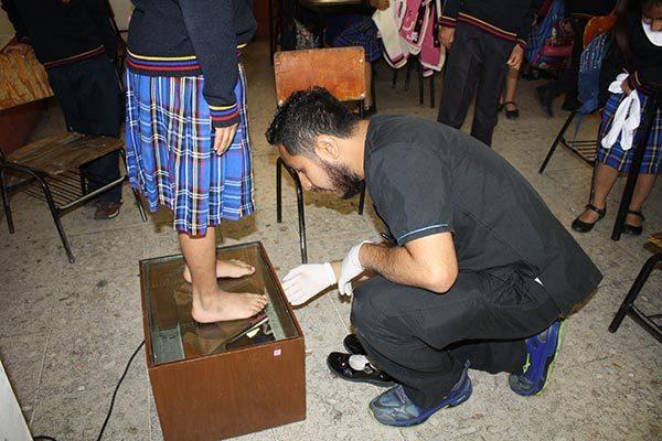 Inicia jornada de detección de pie plano en Zacatelco