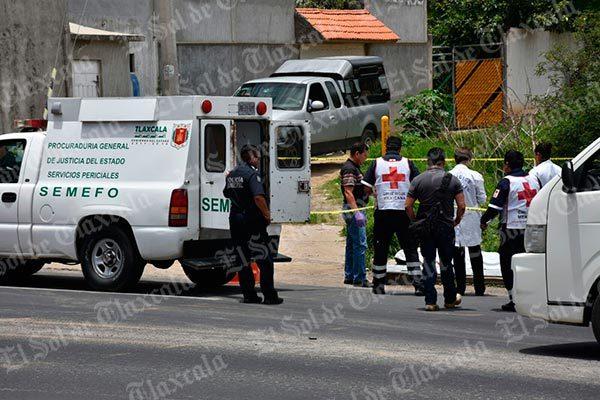 Por abuso del alcohol pierde la vida sobre la carretera federal Tlaxcala-Puebla