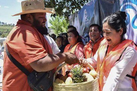 Después de 30 años, pobladores del municipio de Tepeyanco verán obra pública de impacto social, expresó el alcalde Bladimir Zainos Flores. / Tomás BAÑOS