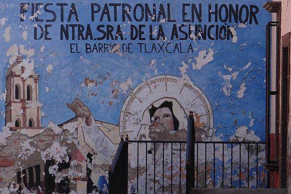 Parte del legado tlaxcalteca fue su religiosidad, la cual aparece en repetidas ocasiones en las poblaciones que fundaron, como en el barrio de Tlaxcala, en San Luis Potosí. /Cortesía Armando Díaz de la Mora
