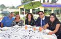 En el restaurante El Gaucho se llevó a cabo el evento