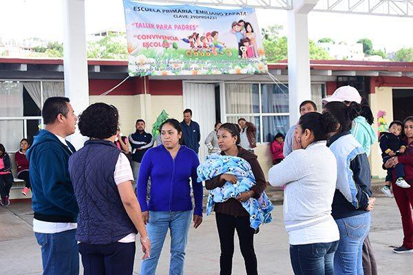 Trabajan para erradicar violencia en escuelas