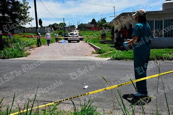Asesinan a balazos a un hombre en Ixtacuixtla