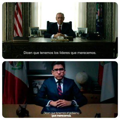 Copia exalcalde de Texoloc diálogo de serie Netflix para promoverse