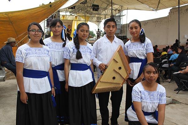 El próximo dos de julio, el Ensamble Huellas de Arte participará en el Festival Internacional ¡Qué viva el salterio!, en Querétaro. /Nora Rachel RAMÍREZ