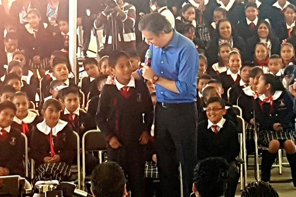 Educación puede acabar de fondo con la corrupción, afirma Aurelio Nuño