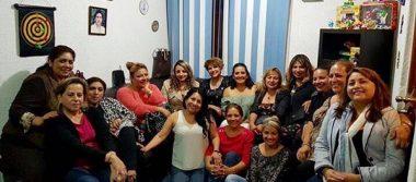 Convivencia en el cumpleaños de Marta Palacios