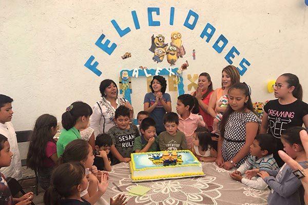 Alejandro  cumple ocho años
