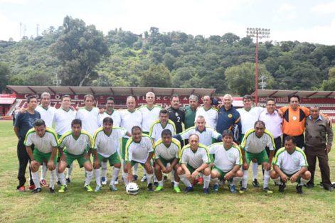 Lobos de Tlaxcala jugó partido de exhibición con los Tuzos del Pachuca en su 39 aniversario. / Everardo NAVA