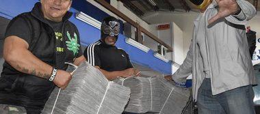 Preparan agarrón de lucha libre