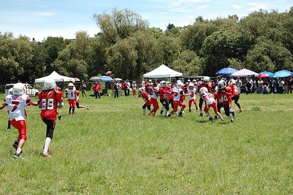 Arranca Bulldogs torneo infantil de futbol americano