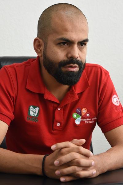 Gerardo Mellado, jefe del departamento de prestaciones sociales del IMSS, señaló que en el polideportivo impulsarán otras disciplinas, por ejemplo, en unas semanas celebrarán la apertura de la liga de voleibol. /Everardo NAVA