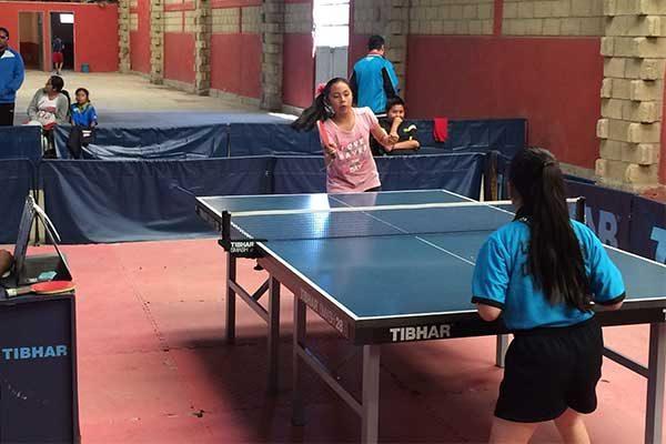 Organizan primer encuentro interestatal de tenis de mesa