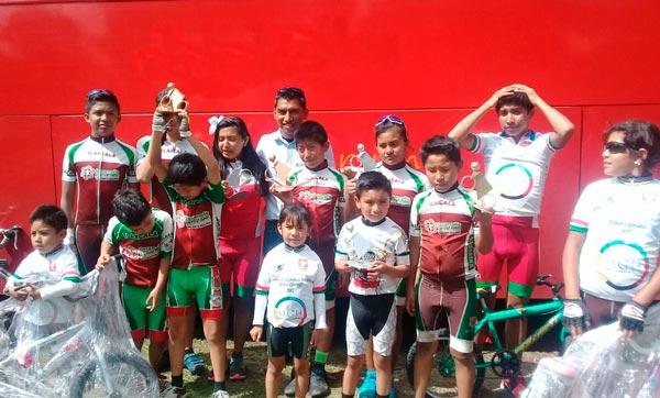 Logra Tlaxcala 11 preseas en regional de ciclismo