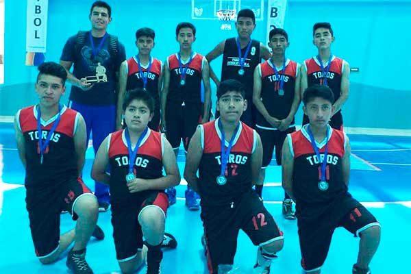 Secundaria Crecer, campeón de Liga estudiantil de baloncesto