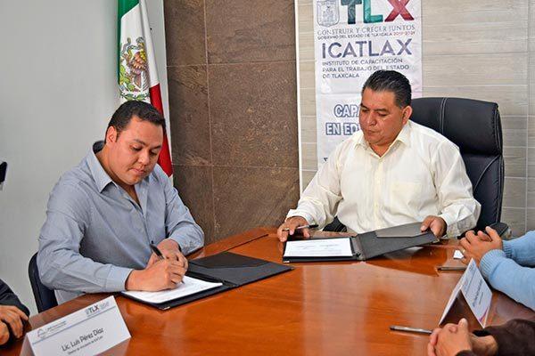 Se coordinan Apetatitlán e Icatlax; apuestan a la capacitación empresarial