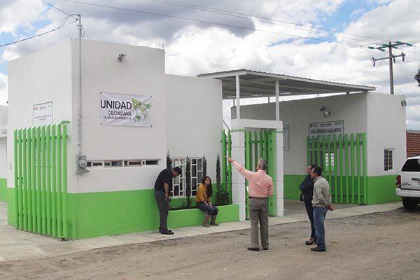 Avanza modernización de las Unidades Ciudadanas de Calidad Ambiental