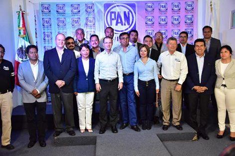 Ofrece Anaya terminar con la división del PAN en Tlaxcala
