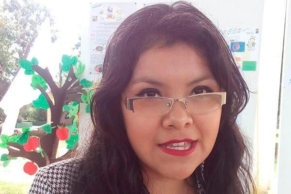 En el evento participó Yaritza Sánchez Gutiérrez, egresada de la Normal Urbana y quien el año pasado obtuvo el primer lugar en el examen de oposición de ingreso al sistema educativo. /Jesús LIMA