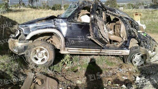 Accidente en El Peñón deja cuatro lesionados