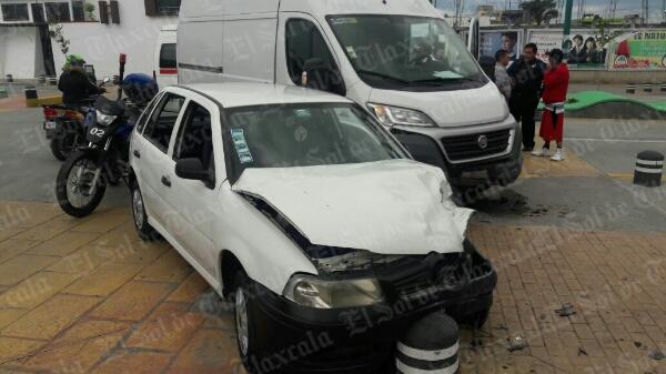 Una mujer lesionada, saldo de percance vial en Apizaco