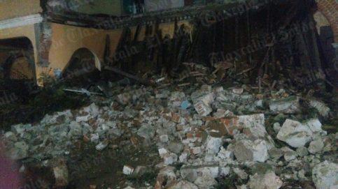 Se Derrumbó el Portal Emblemático de San Pablo Apetatitlán