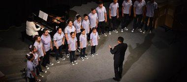 Ofrece Coro Infantil y Juvenil de Tlaxcala emotivo concierto