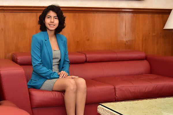 Mariel Mompín Ávalos, frescura y dinamismo