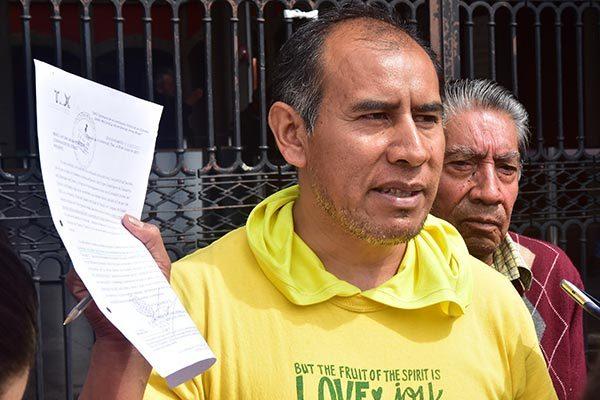 Solicitan al ayuntamiento de Tlaxcala escrituras de terreno del mercado de La Loma