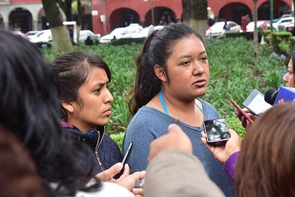 Acusan normalistas que docentes abandonan su centro de trabajo