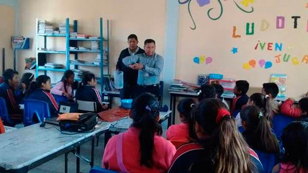 Previenen brote del virus en escuelas y guarderías de Tzompantepec