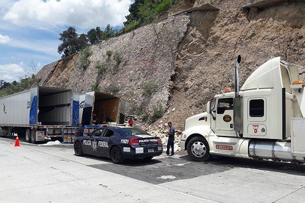 Aumentan 150 % accidentes  carreteros en el norponiente de la entidad