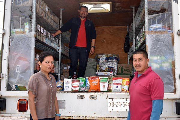 Llega Tienda Móvil de Diconsa a Zacatelco