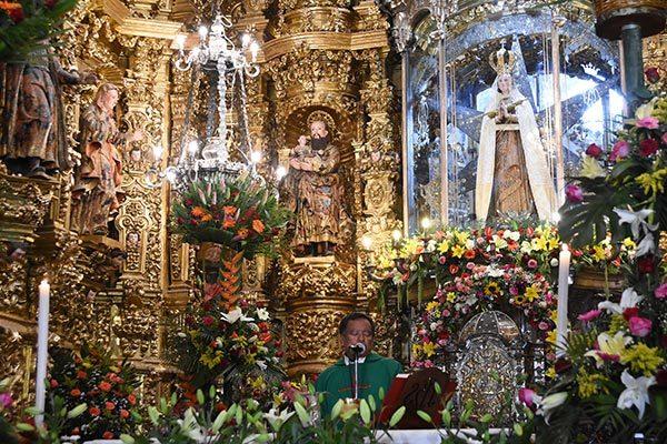 Conmemora Diócesis 262 años del patronato de la Virgen de Ocotlán