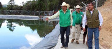 Inauguran olla de captación de agua pluvial en Emiliano Zapata