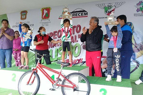 Brilla Tlaxcala en la copa de ciclismo celebrada en Toluca